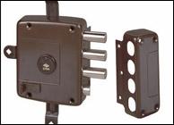 Fechadura de 2 trancas com chave serviço 57165